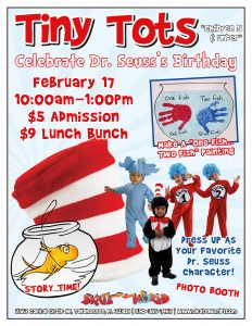 tiny tots dr. seuss event