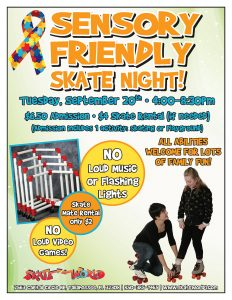 sensory friendly skating